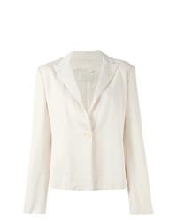 Женский белый пиджак от Krizia Vintage