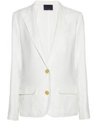 Женский белый пиджак от Lanvin
