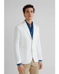 Мужской белый пиджак от Mango Man