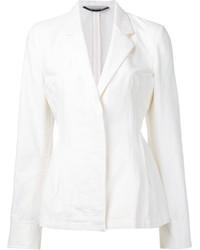 Женский белый пиджак от Stella McCartney