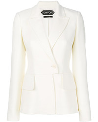 Женский белый пиджак от Tom Ford