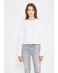 Женский белый свитер с круглым вырезом от Miss Selfridge