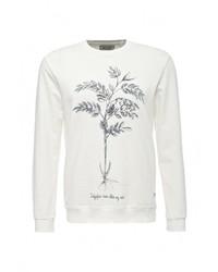 Мужской белый свитер с круглым вырезом от Only & Sons