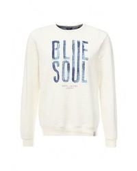 Мужской белый свитер с круглым вырезом от Pepe Jeans
