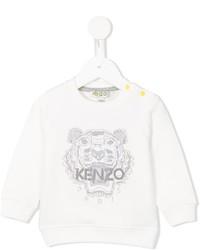 Детский белый свитер для мальчику от Kenzo