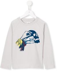 Детский белый свитер для мальчику от No Added Sugar