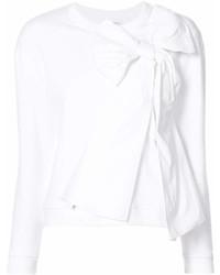 Женский белый свитшот от RED Valentino