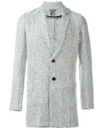 Белый твидовый пиджак