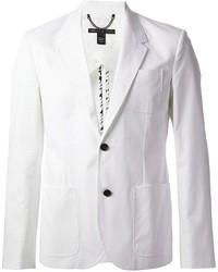 Мужской белый хлопковый пиджак от Marc by Marc Jacobs