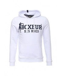 Мужской белый худи от Boxeur Des Rues