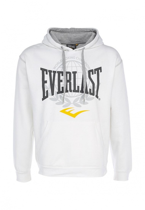 Мужской белый худи от Everlast