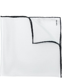 Белый шелковый нагрудный платок от Tom Ford