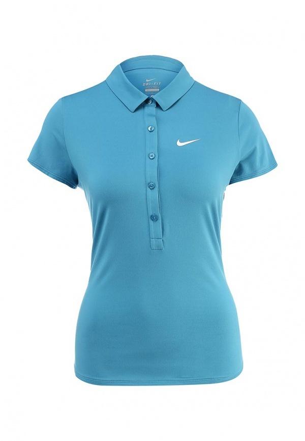 3dea7024778 ... Женская бирюзовая рубашка поло от Nike ...