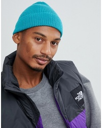 Мужская бирюзовая шапка от ASOS DESIGN