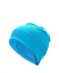 Женская бирюзовая шапка от Salomon