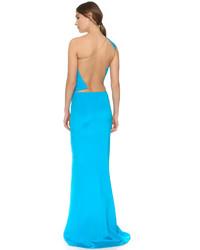 6d15e79e5e3 С чем носить бирюзовое вечернее платье  Модные луки (11 фото ...