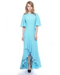 78225d81249 Купить бирюзовое вечернее платье - модные модели вечерних платьев ...