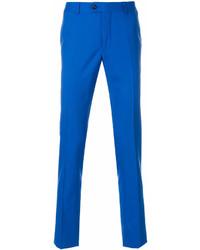 Бирюзовые брюки чинос от Billionaire