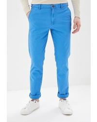 Бирюзовые брюки чинос от Izod