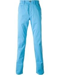 Бирюзовые брюки чинос от Kenzo