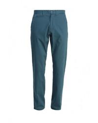 Бирюзовые брюки чинос от Top Secret