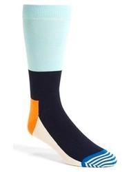 Бирюзовые носки