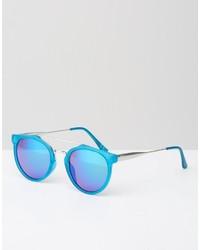 Женские бирюзовые солнцезащитные очки от Jeepers Peepers
