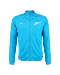6e8b46e3 Купить мужскую бирюзовую куртку Nike в интернет-магазине Lamoda ...