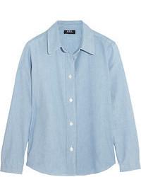 блуза на пуговицах medium 55400