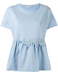 Голубая блузка от P.A.R.O.S.H.