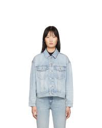 Женская голубая джинсовая куртка от Alexander Wang