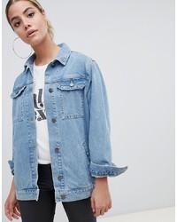 Женская голубая джинсовая куртка от ASOS DESIGN