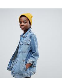 Женская голубая джинсовая куртка от Asos Petite