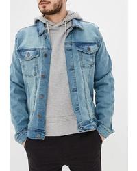 Мужская голубая джинсовая куртка от BLEND