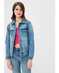 Женская голубая джинсовая куртка от Brave Soul