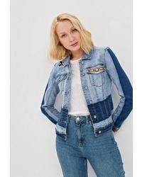 Женская голубая джинсовая куртка от Desigual