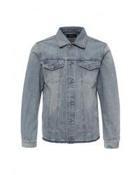 Мужская голубая джинсовая куртка от Diesel