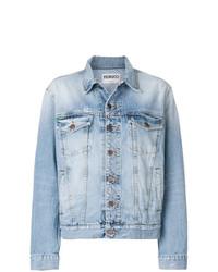 Женская голубая джинсовая куртка от Fiorucci