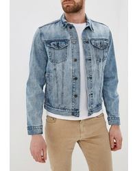 Мужская голубая джинсовая куртка от Gap
