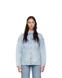 Женская голубая джинсовая куртка от Givenchy