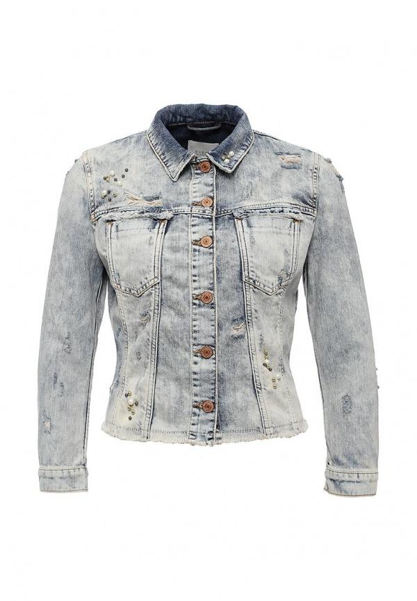 9af8f70fd2919e Женская голубая джинсовая куртка от Guess Jeans, 17 999 руб ...