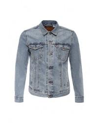 Мужская голубая джинсовая куртка от Levi's