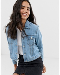 Женская голубая джинсовая куртка от Miss Selfridge
