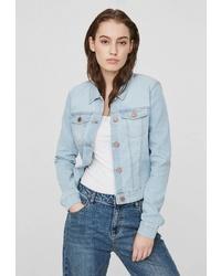 Женская голубая джинсовая куртка от Noisy May