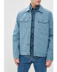 Мужская голубая джинсовая куртка от O'stin