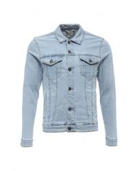 Мужская голубая джинсовая куртка от Only & Sons