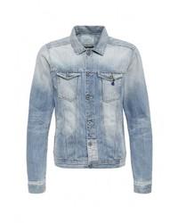Мужская голубая джинсовая куртка от Scotch&Soda