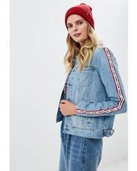 Женская голубая джинсовая куртка от Tommy Jeans
