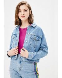 Женская голубая джинсовая куртка от Topshop