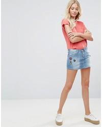 Голубая джинсовая мини-юбка от Blend She